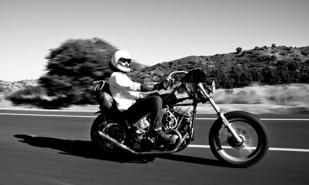 Riding shot